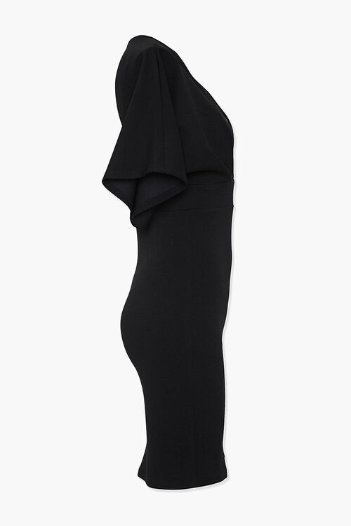 Plunging Bodycon Dress, image 2