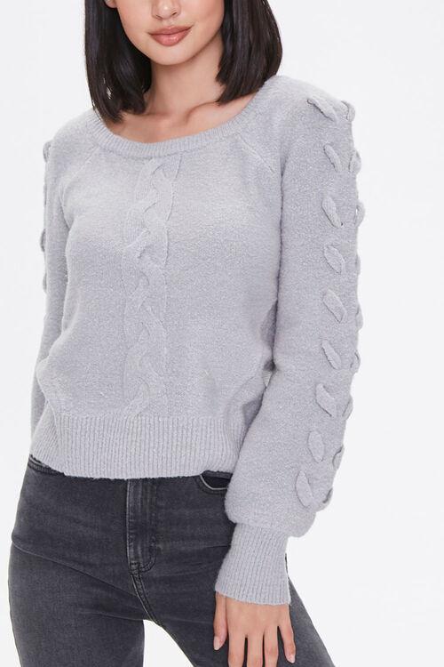 Lace-Up Sleeve Sweater, image 5