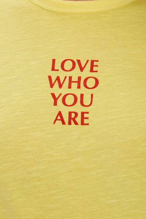 Love Who You Are Graphic Tee, image 5