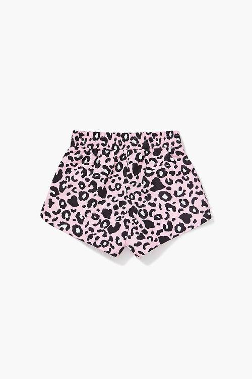 Girls Leopard Print Shorts (Kids), image 2