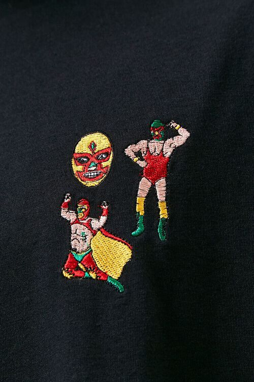 Luchador Embroidered Graphic Tee, image 5