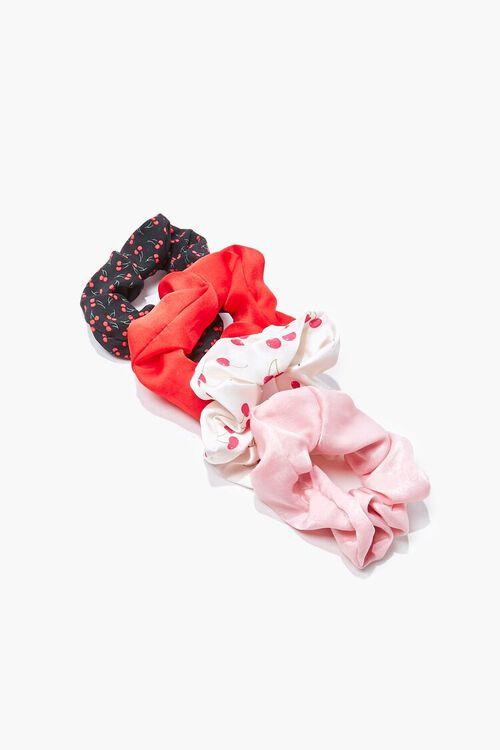Cherry Print Scrunchie Set, image 1