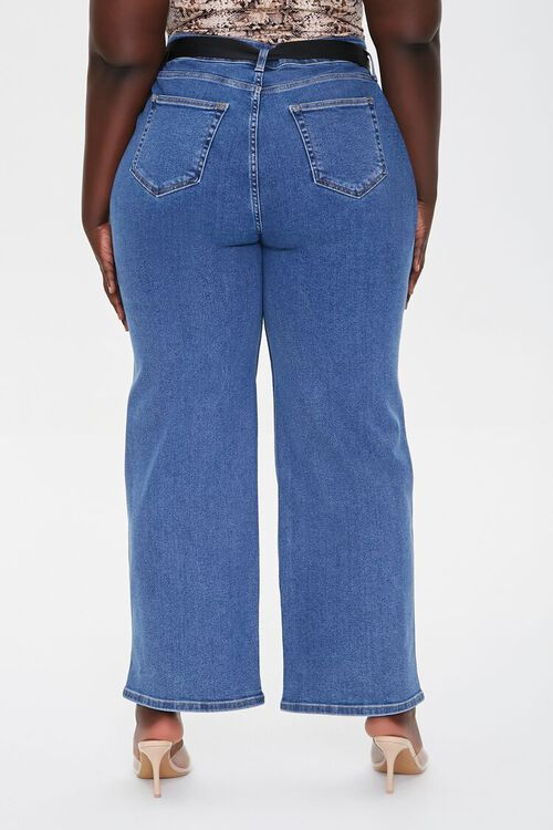 Plus Size High-Rise Straight Jeans, image 4
