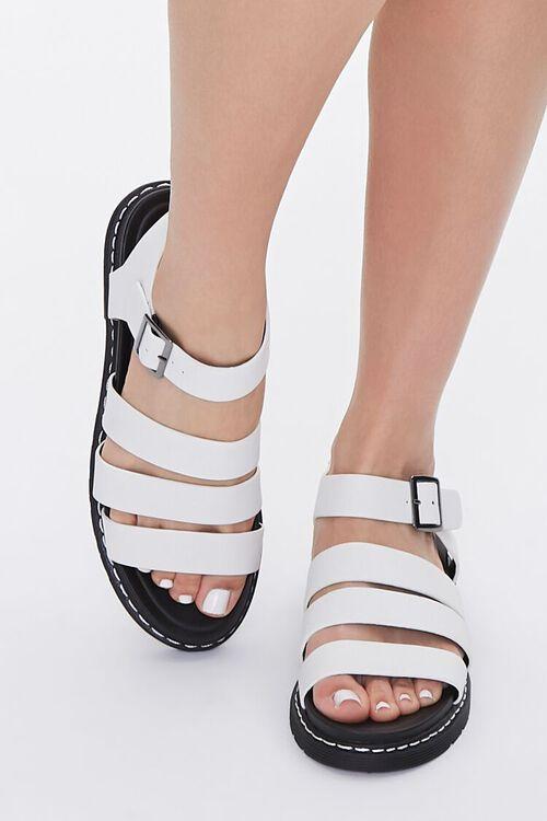Caged Platform Sandals, image 4