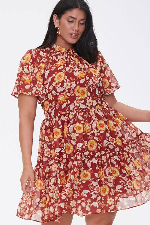 Plus Size Floral Dress, image 5