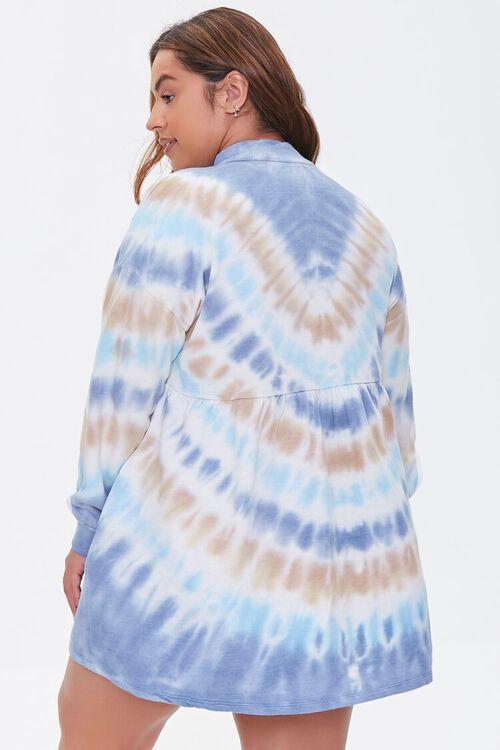 Plus Size Tie-Dye Mini Dress, image 3