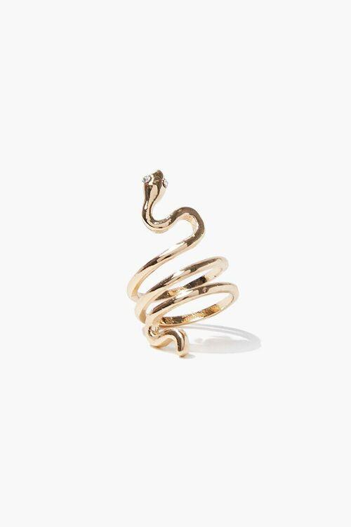 Snake Cocktail Ring, image 1