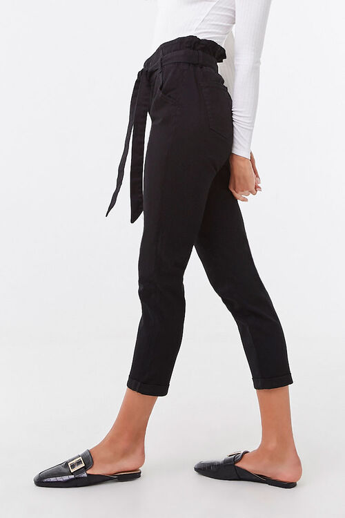 Belted Paperbag Pants, image 3
