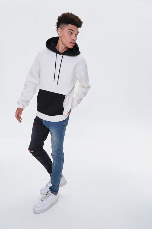 Colorblock Skinny Jeans, image 1