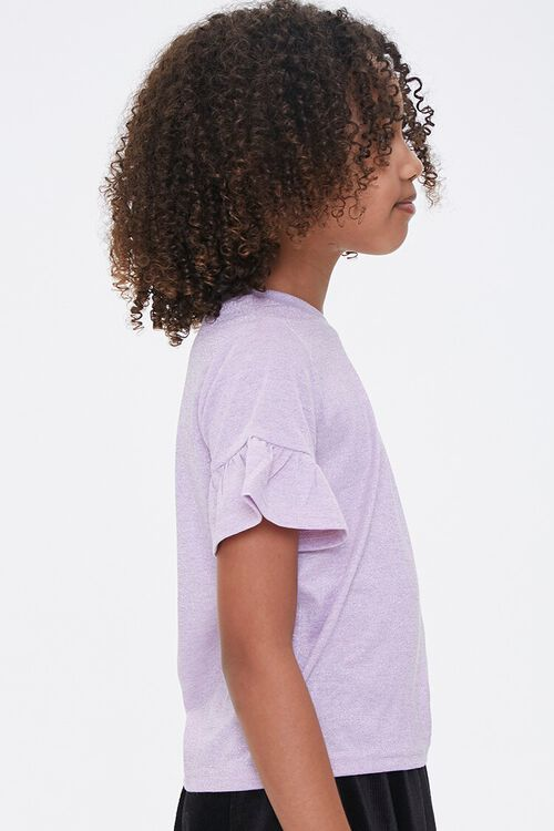 Girls Ruffled-Sleeve Tee (Kids), image 2