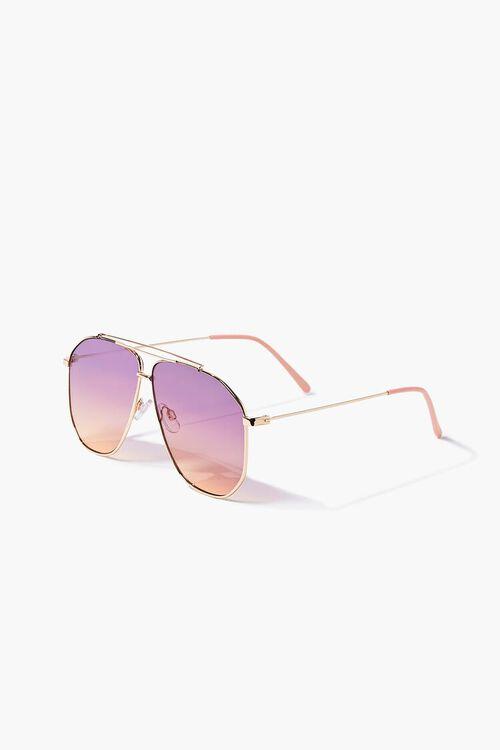 Ombre Aviator Sunglasses, image 2