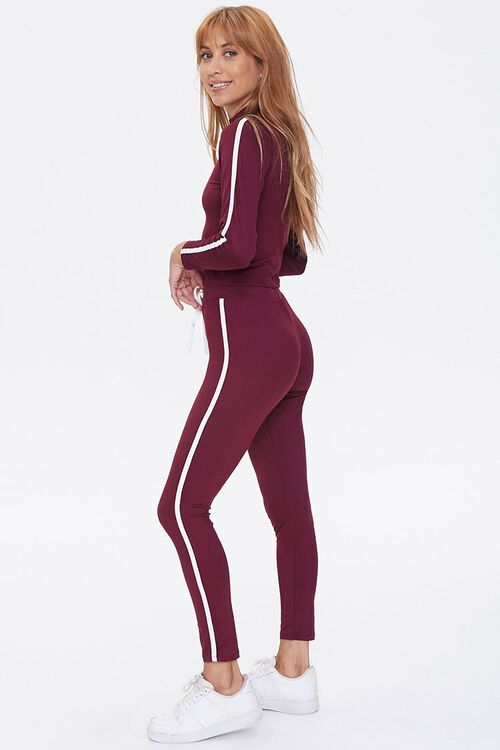 Side-Striped Top & Leggings Set, image 2