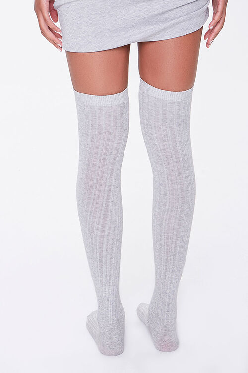 Ribbed Over-the-Knee Socks, image 3