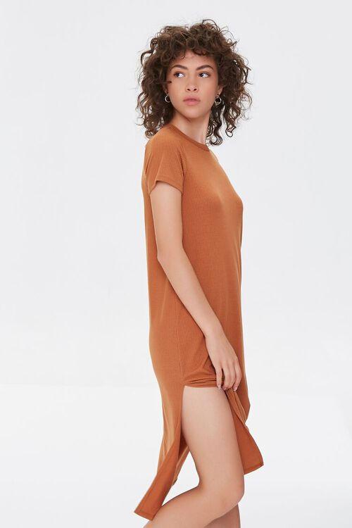 Recycled Leg-Slit T-Shirt Dress, image 2