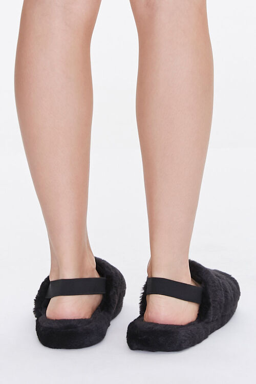 Plush Tiered Slippers, image 3