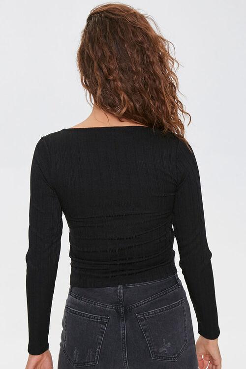 Ribbed Long-Sleeve Top, image 3