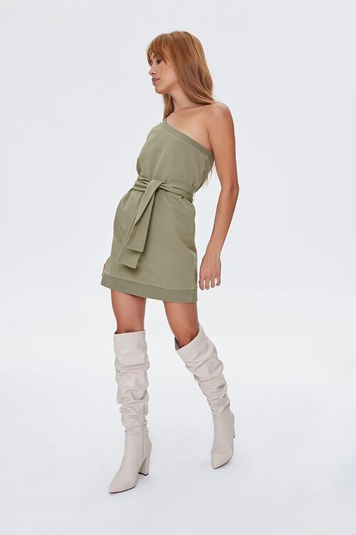 One-Shoulder Mini Dress, image 1