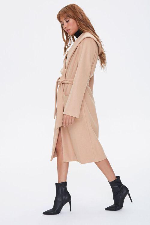 Tie-Waist Wrap Coat, image 2
