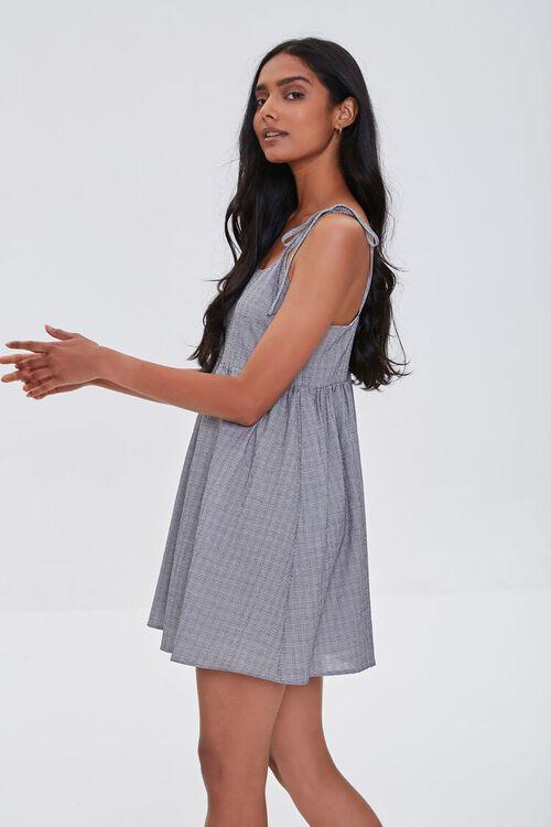 IVORY/BLACK Self-Tie Cami Mini Dress, image 2