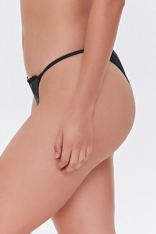 Ruffled String Bikini Bottoms, image 4