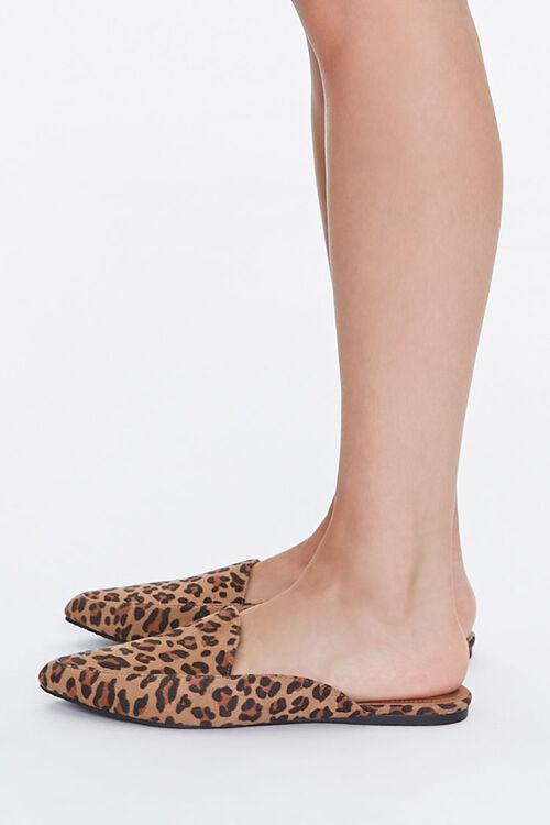 Leopard Print Loafer Mules, image 2