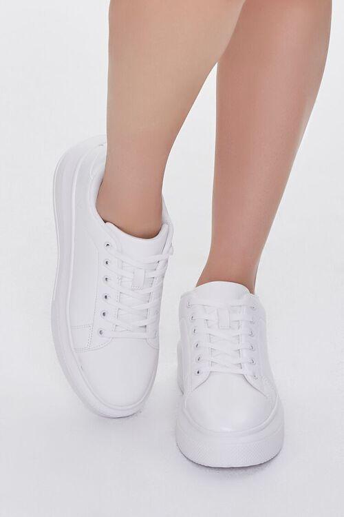 Low-Top Platform Sneakers, image 4