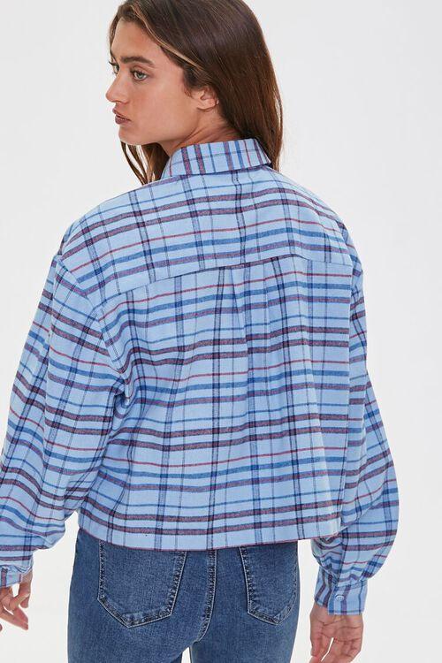 Plaid Drop-Sleeve Shirt, image 3