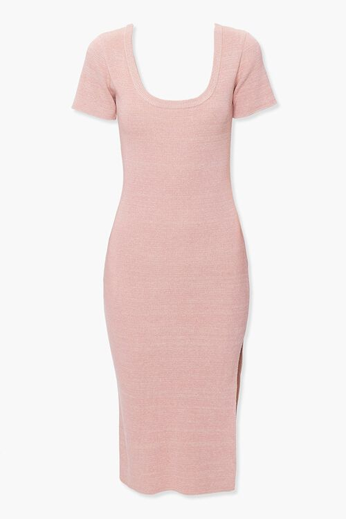 Heathered Bodycon Dress, image 1