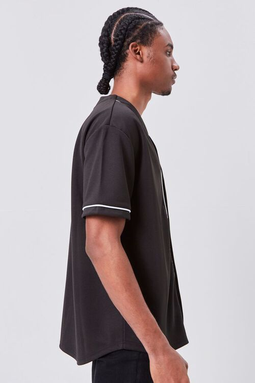 Contrast Piped-Trim Shirt, image 2
