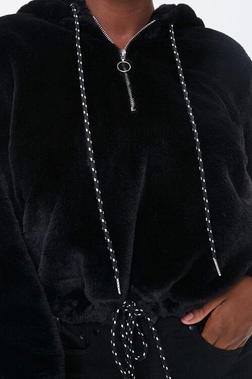 Plush Drawstring Hoodie, image 5