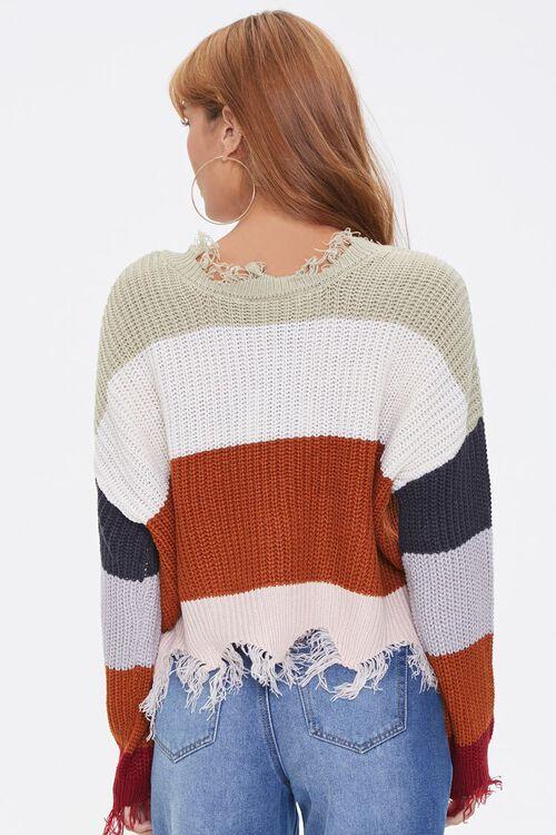 Distressed Colorblock Sweater, image 3
