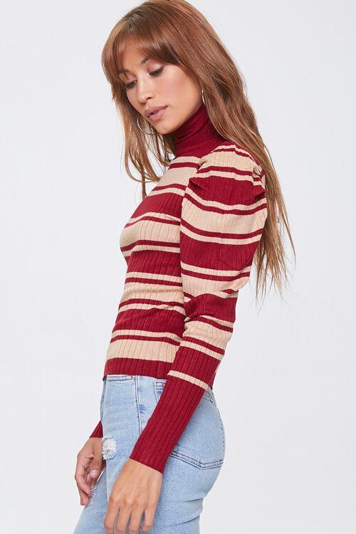 Striped Turtleneck Sweater, image 2