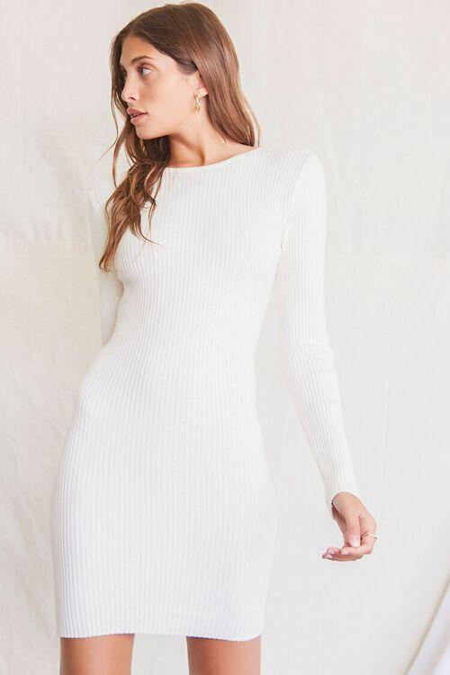 CREAM Twisted-Back Sweater Dress, image 2