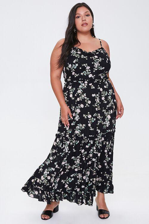 Plus Size Floral Maxi Dress, image 4