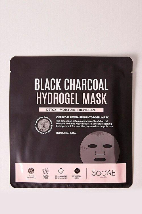 BLACK Black Charcoal Hydrogel Mask, image 1