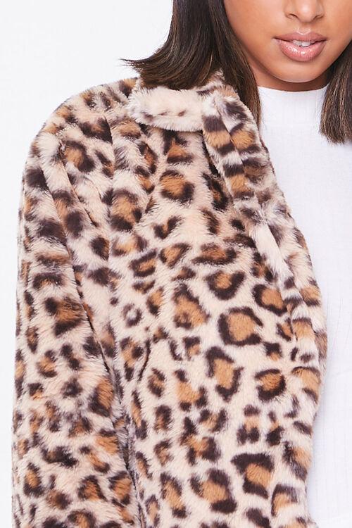 Plush Leopard Print Jacket, image 5