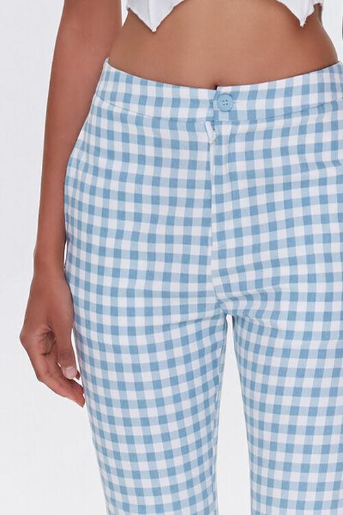Gingham Straight-Leg Pants, image 5