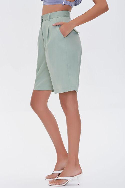 High-Rise Straight-Leg Shorts, image 3