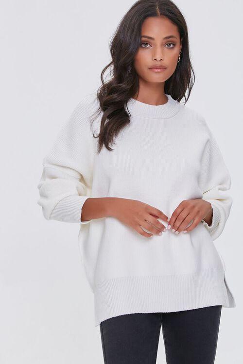 CREAM Dropped-Sleeve Sweater, image 1