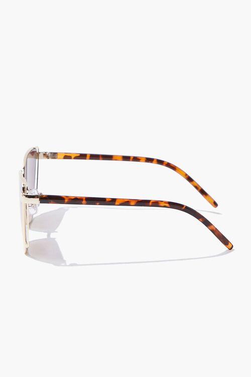 Square Tortoiseshell Sunglasses, image 3