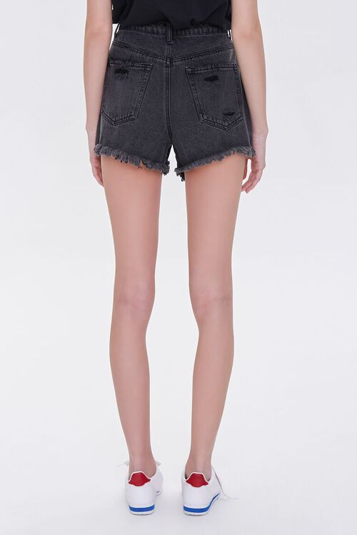 Distressed Denim Shorts, image 4