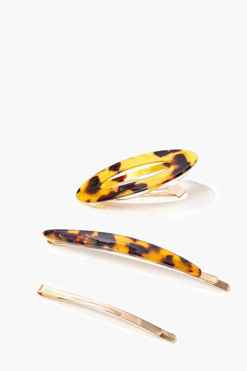 Tortoiseshell Hair Clip Set, image 2