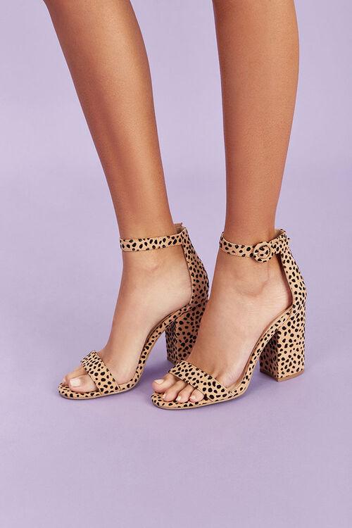 Cheetah Print Block Heels, image 1