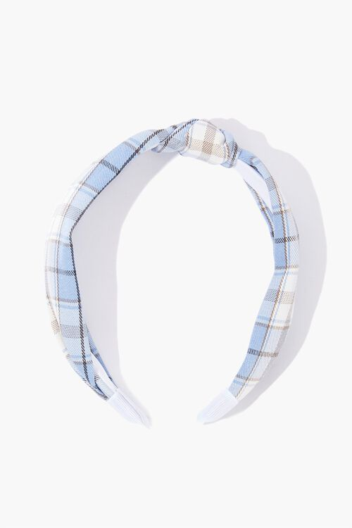 Knotted Plaid Headband, image 2
