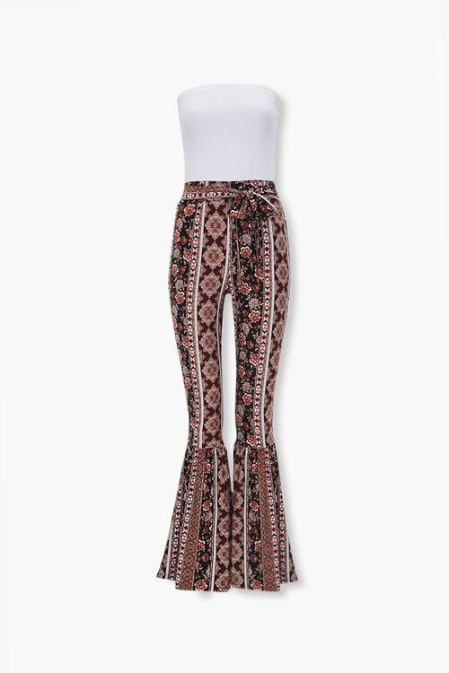 Ornate Print Combo Jumpsuit, image 1