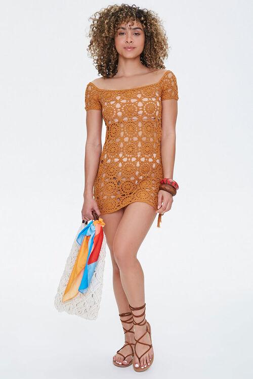 Crochet Swim Cover-Up Dress, image 4