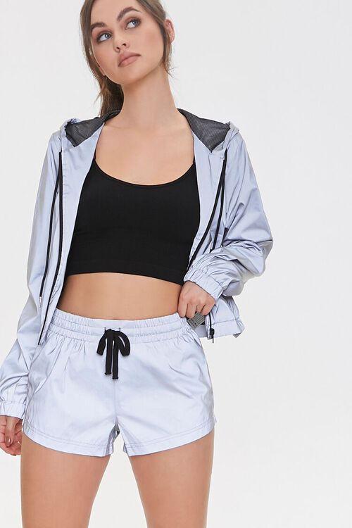 Active Zip-Pocket Shorts, image 1
