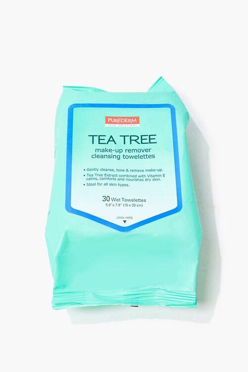 MINT Tea Tree Makeup Remover Towelettes, image 1