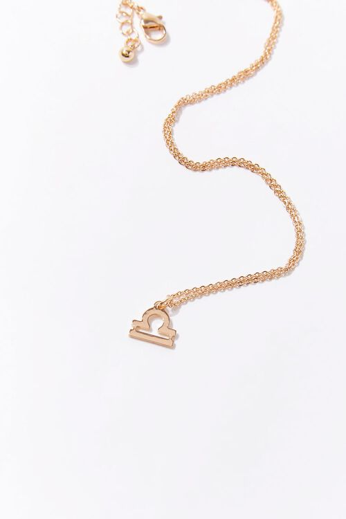 Libra Charm Necklace, image 1
