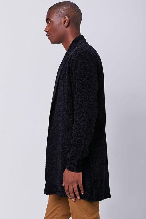 Brushed Knit Cardigan Sweater, image 2